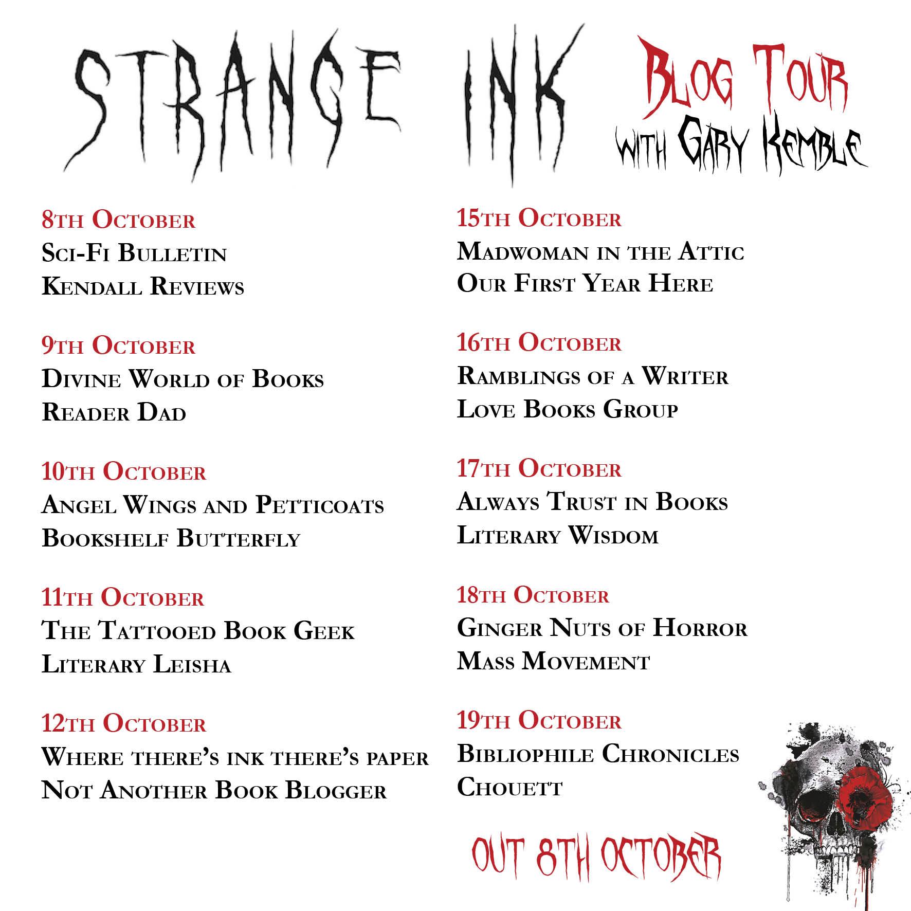 Strange Ink Banner