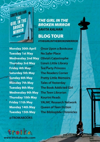 Girl in the Broken Mirror blog tour