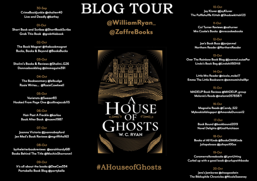 William Ryan Blogtour 19 Sept (1)